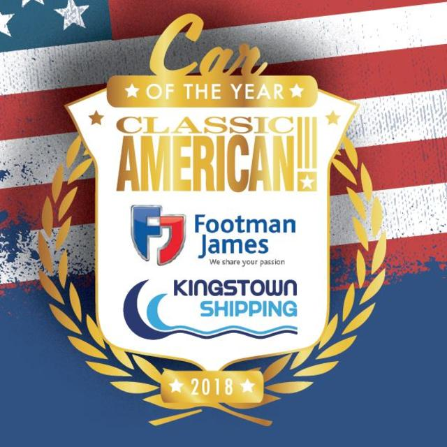 Classic American Magazine Car of the Year 2018   Kingstown Shipping.JPG