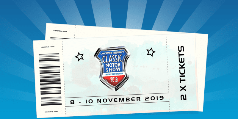 Kingstown Shipping   NEC Classic Motor Show Ticket Giveaway